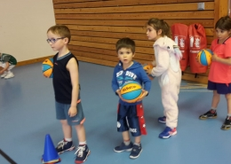 entrainement Baby Chazay Basket