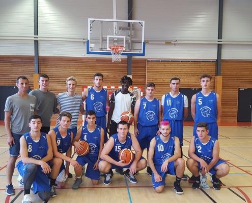 équipe U20 chazay Basket