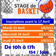 Stage basket Avril UCLA Basket