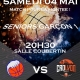 affiche match UCLA Basket