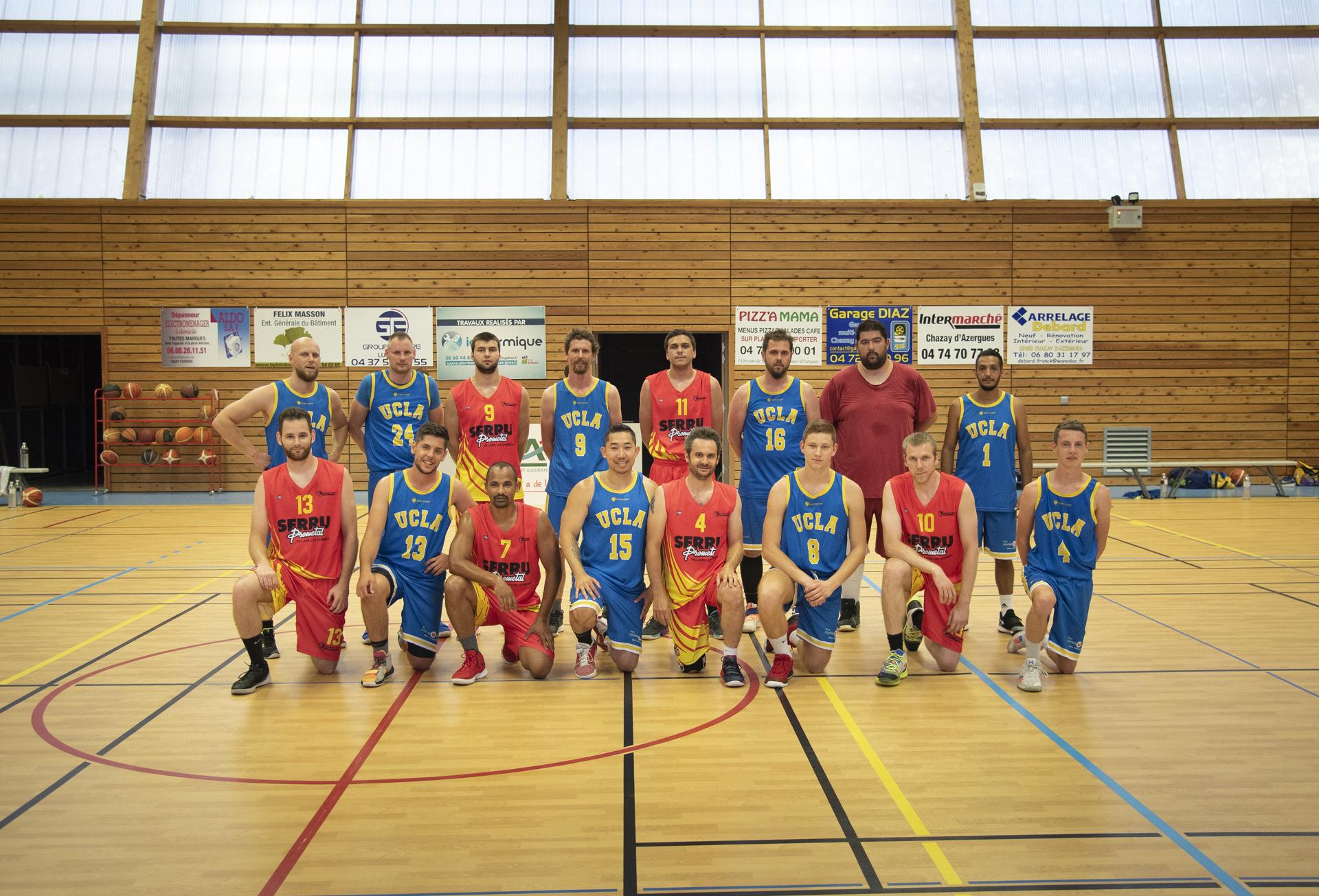match BC villardois - UCLA Basket