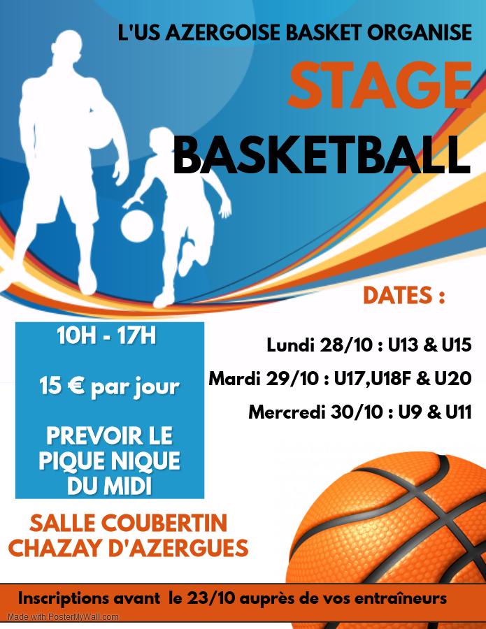 stage basket US Azergoise